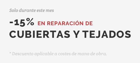 Oferta Drékaro Reparación Tejados ¡Pídenos Presupuesto!