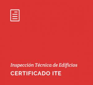Inspección Técnica de Edificios. Certificado ITE