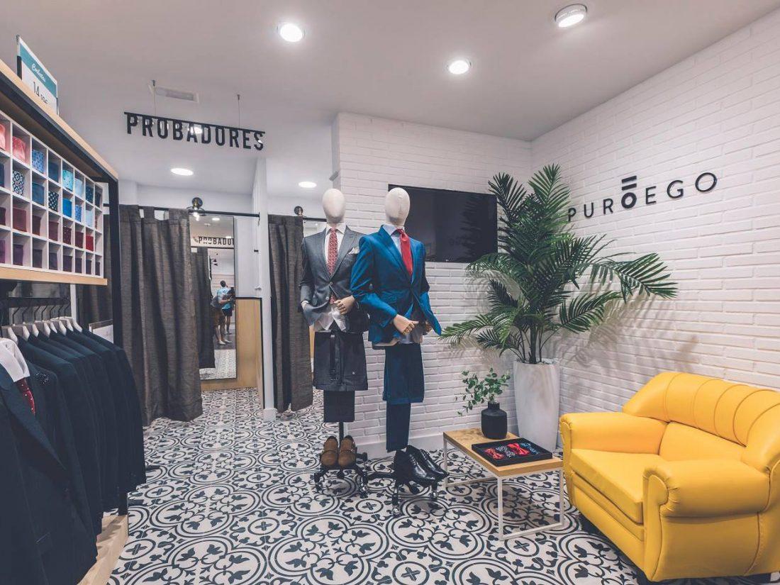 Probadores Tienda. Poniendo cara a tu negocio. Reforma de locales PuroEGO en Salamanca | Drékaro Negocios