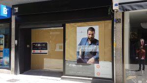 Fachada Tienda. Poniendo cara a tu negocio. Reforma de locales PuroEGO en Salamanca | Drékaro Negocios