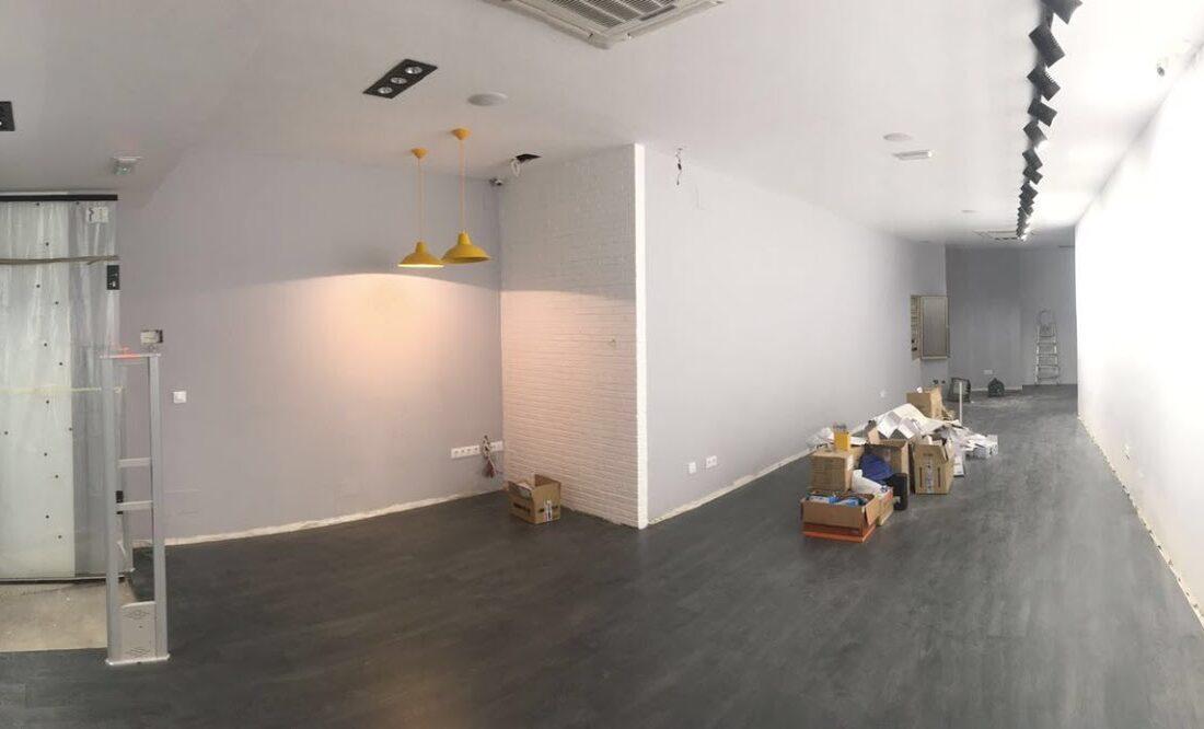Durante la obra. Poniendo cara a tu negocio. Reforma de locales PuroEGO en Salamanca | Drékaro Negocios