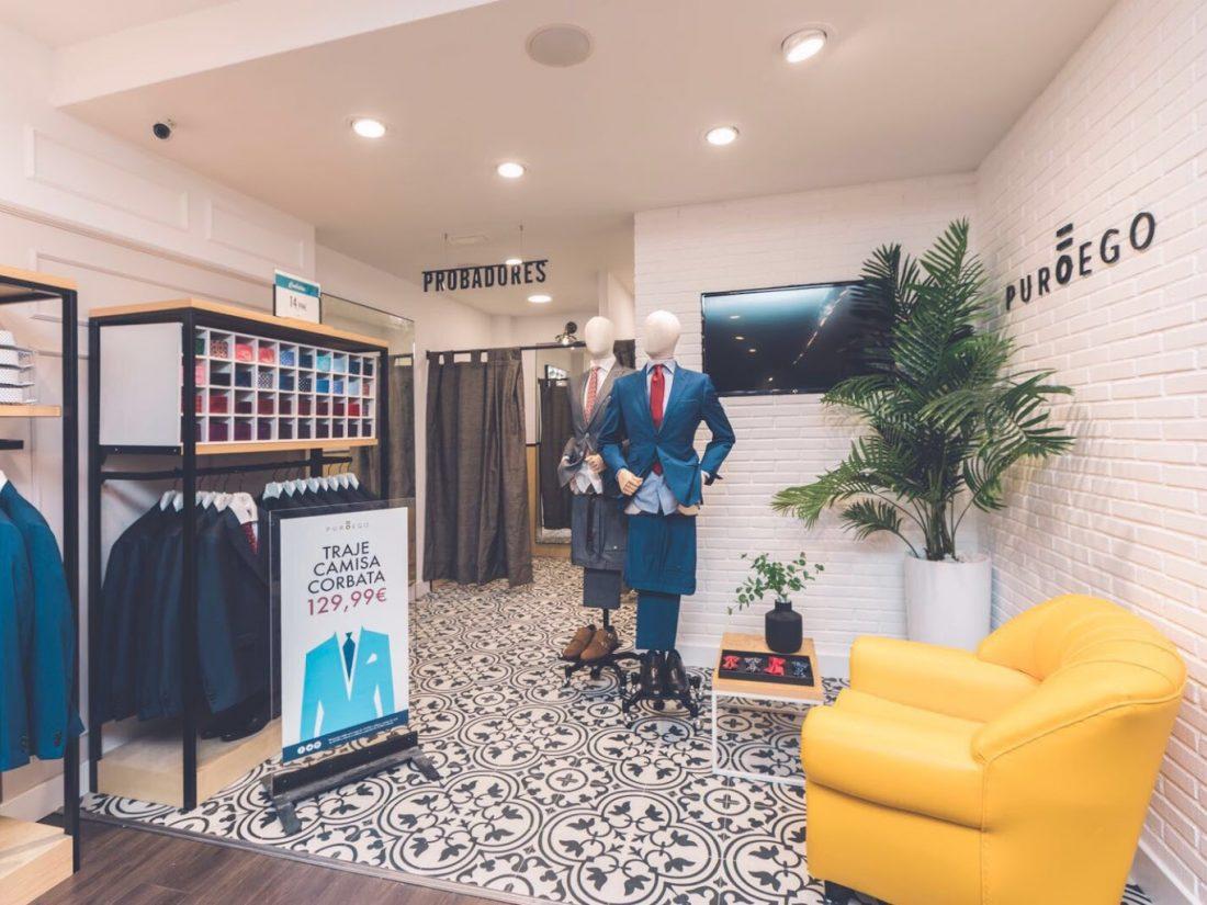 Zona de Probadores. Poniendo cara a tu negocio. Reforma de locales PuroEGO en Salamanca | Drékaro Negocios
