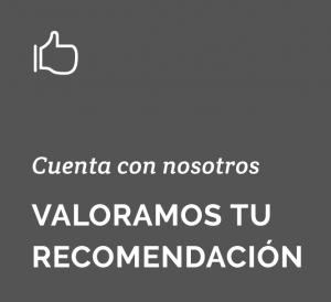 Valoramos tu recomendación   Campaña Porteros Drékaro