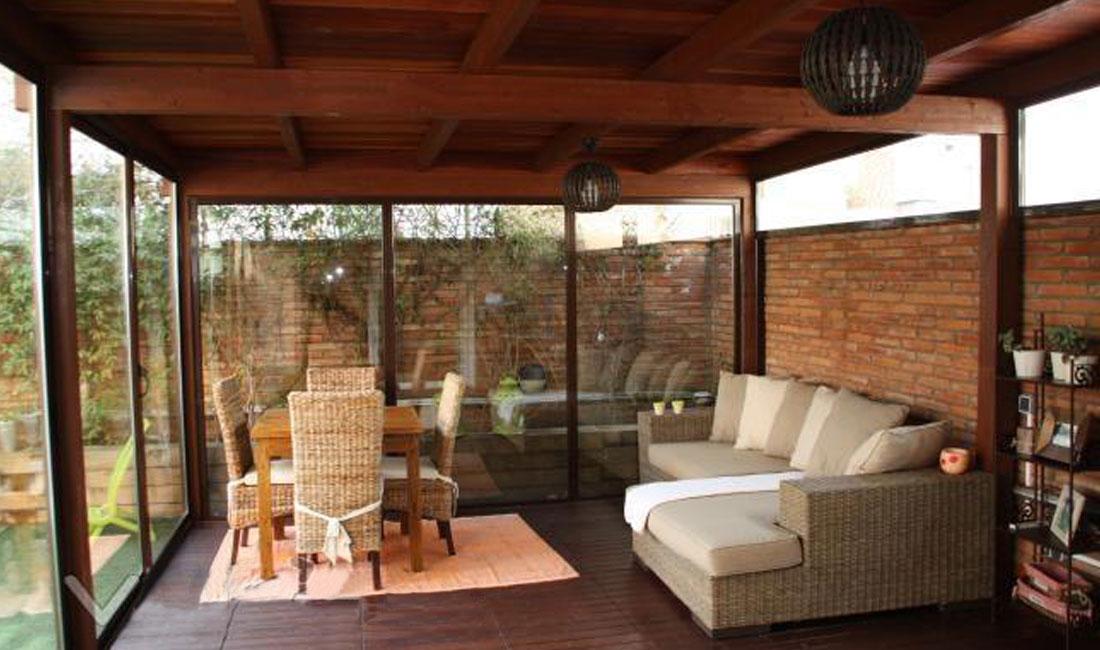 Ventanas y Cerramientos | Cerramiento porche desmontable | Plan Luz Natural | Drékaro