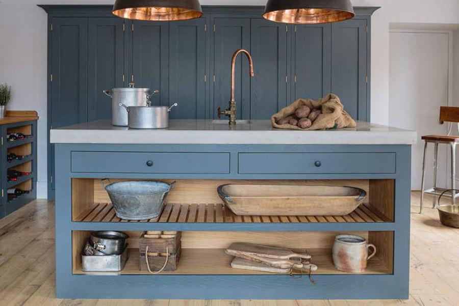 Reformar tu cocina | Encimera de Microcemento con Acabado Piedra | Tendencias 2018 Drékaro