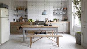 Reformar tu cocina | Estanterías a la vista Cocina Estilo Rústico | Tendencias 2018 Drékaro