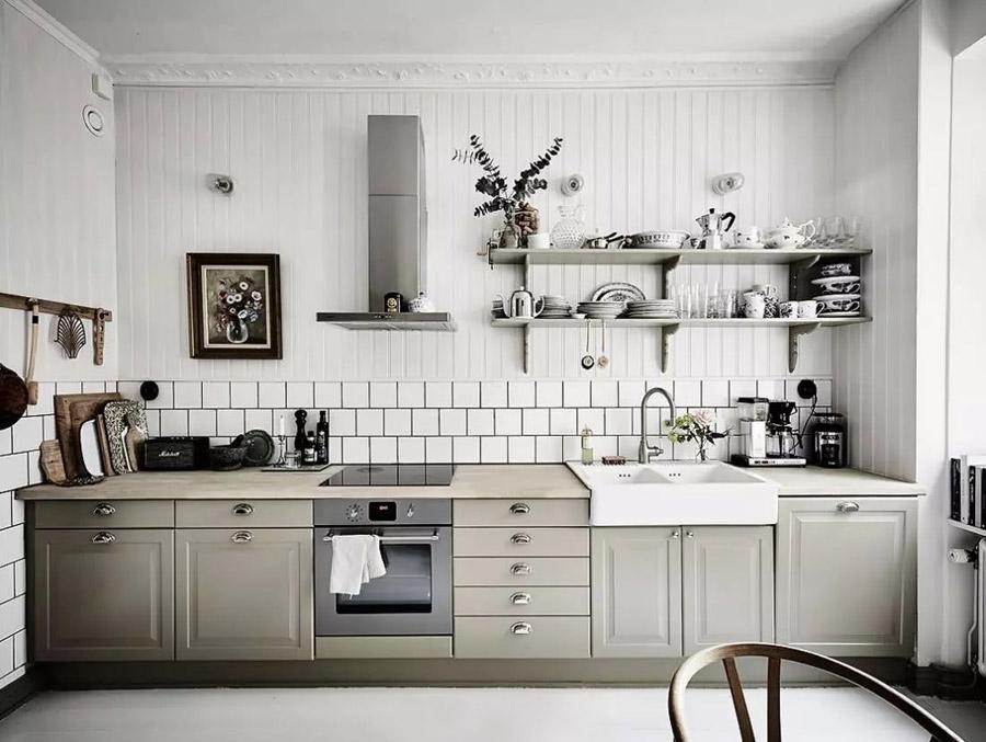 Reformar tu cocina | Estanterías a la vista Cocina Estilo Tendencia | Tendencias 2018 Drékaro