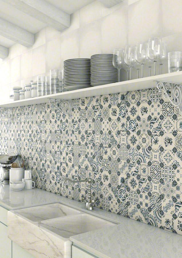 Reformar tu cocina | Paredes Azulejo Neumático Clásico | Tendencias 2018 Drékaro