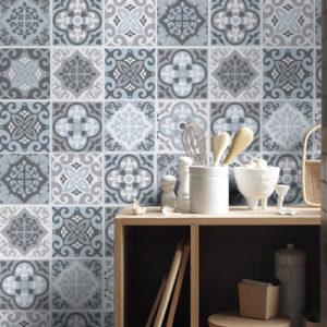 Reformar tu cocina   Paredes Azulejo Neumático   Tendencias 2018 Drékaro