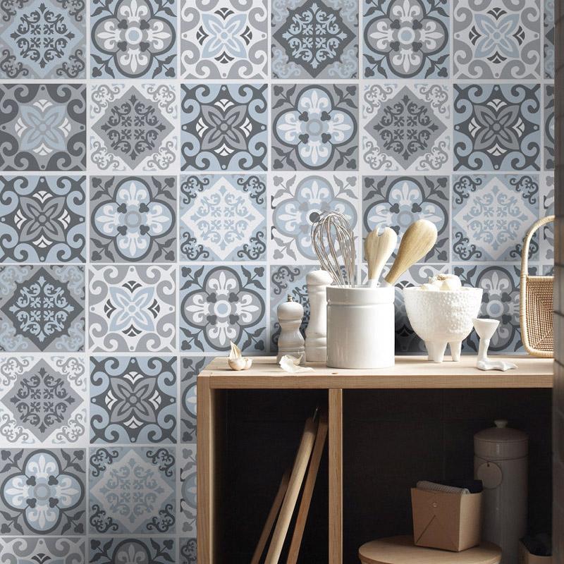 Reformar tu cocina | Paredes Azulejo Neumático | Tendencias 2018 Drékaro