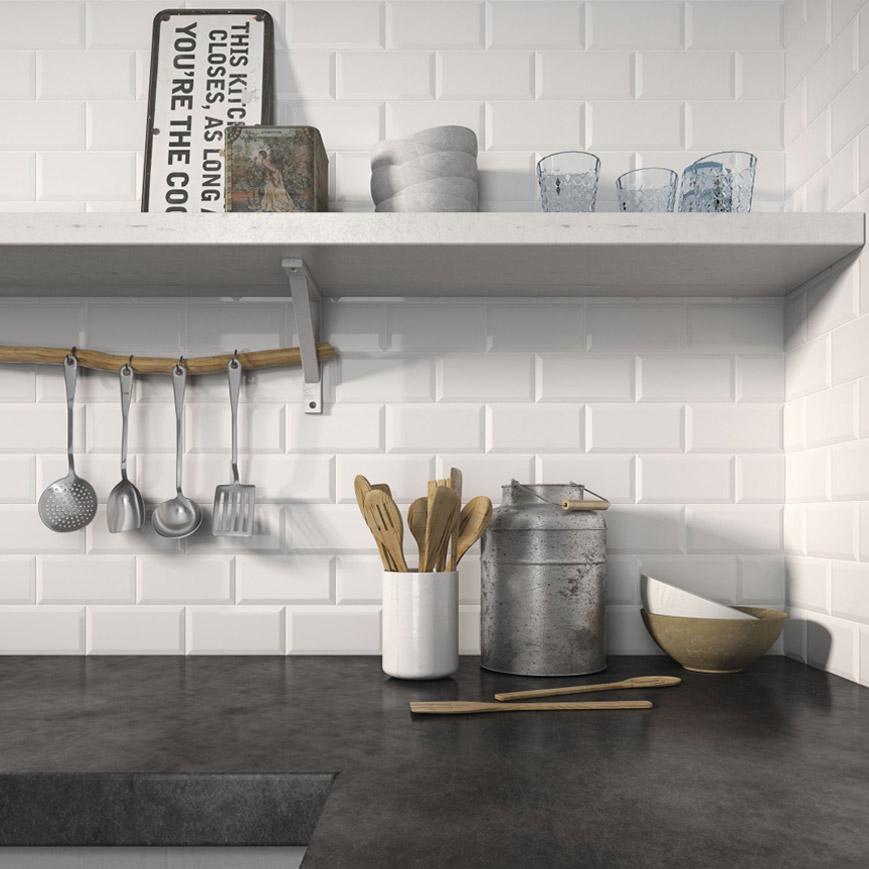 Reformar tu cocina | Paredes Azulejo Tipo Metro | Tendencias 2018 Drékaro
