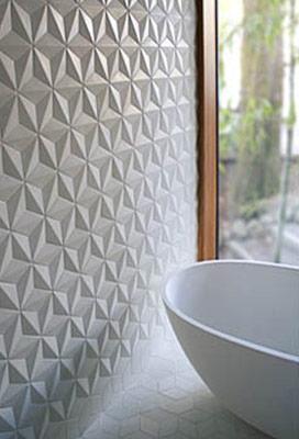 Urban Bath | Azulejos con Textura Brillo | Especial Baños Pequeños | Tendencias Reformas 2019 | Drékaro