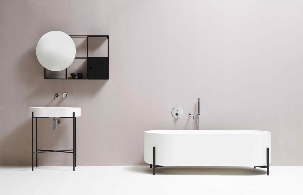 Urban Bath | Espejo Redondo | Especial Baños Pequeños | Tendencias Reformas 2019 | Drékaro