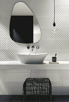 Urban Bath | Azulejos con Textura Fabric | Especial Baños Pequeños | Tendencias Reformas 2019 | Drékaro