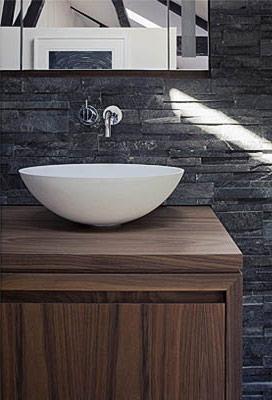 Urban Bath | Azulejos con Textura Pizarra | Especial Baños Pequeños | Tendencias Reformas 2019 | Drékaro