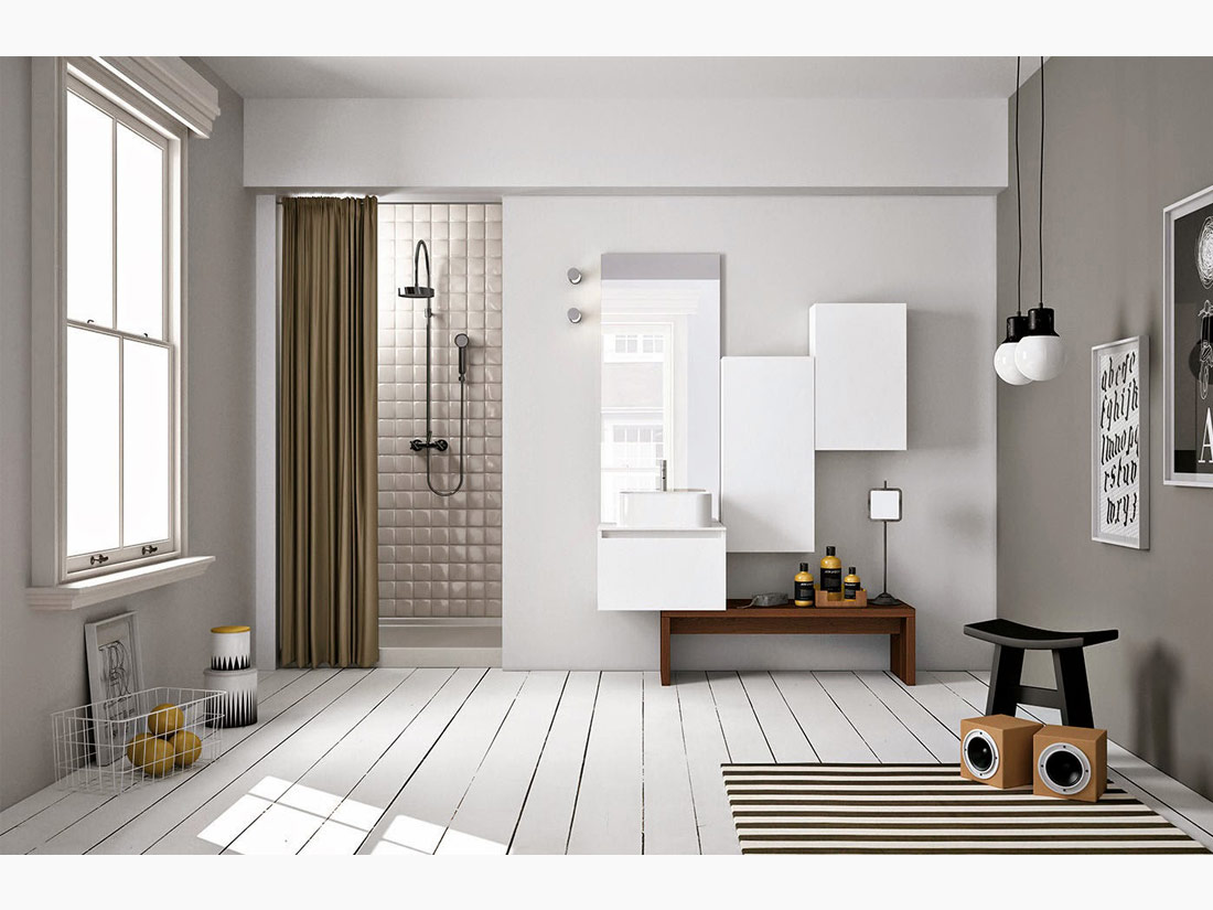 Urban Bath | Combinando el Total White con Grises | Especial Baños Pequeños | Tendencias Reformas 2019 | Drékaro