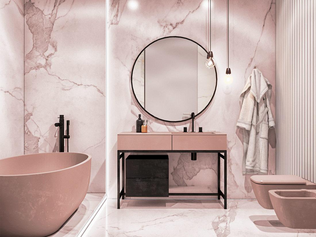 Urban Bath | Combina el Total White y el Living Coral | Especial Baños Pequeños | Tendencias Reformas 2019 | Drékaro
