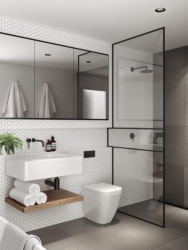 Urban Bath | Industrial Style | Especial Baños Pequeños | Tendencias Reformas 2019 | Drékaro