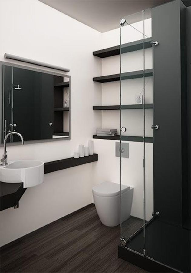 Urban Bath | Lavamanos exentos, muebles volados y sanitarios suspendidos | Especial Baños Pequeños | Tendencias Reformas 2019 | Drékaro