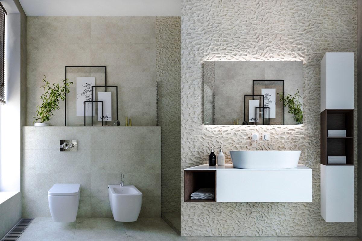 Urban Bath | Minimal Modern | Especial Baños Pequeños | Tendencias Reformas 2019 | Drékaro