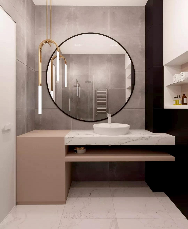 Urban Bath | Maxi Espejo Redondo | Especial Baños Pequeños | Tendencias Reformas 2019 | Drékaro