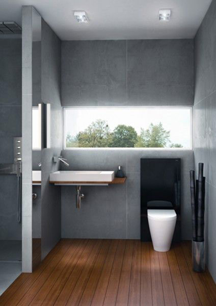 Urban Bath | Ventana Simulada Lámina Árboles Retroiluminada | Especial Baños Pequeños | Tendencias Reformas 2019 | Drékaro