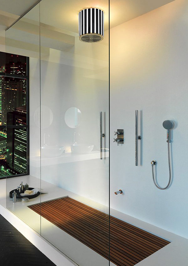 Urban Bath | Ventana Simulada Lámina Ciudad Retroiluminada | Especial Baños Pequeños | Tendencias Reformas 2019 | Drékaro