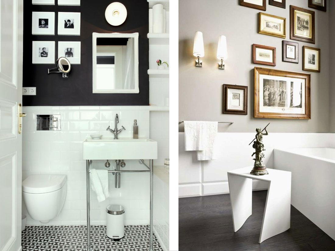 Classic Family Bath | Decoración Clásica con Fotos Familiares | Especial Baños Familiares | Tendencias Reformas 2019 | Drékaro