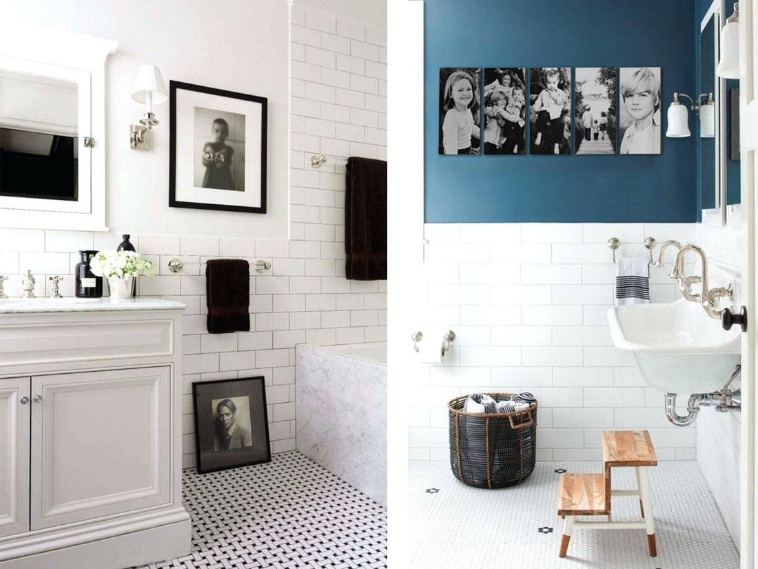 Classic Family Bath | Decoración Trend con Fotos Familiares | Especial Baños Familiares | Tendencias Reformas 2019 | Drékaro