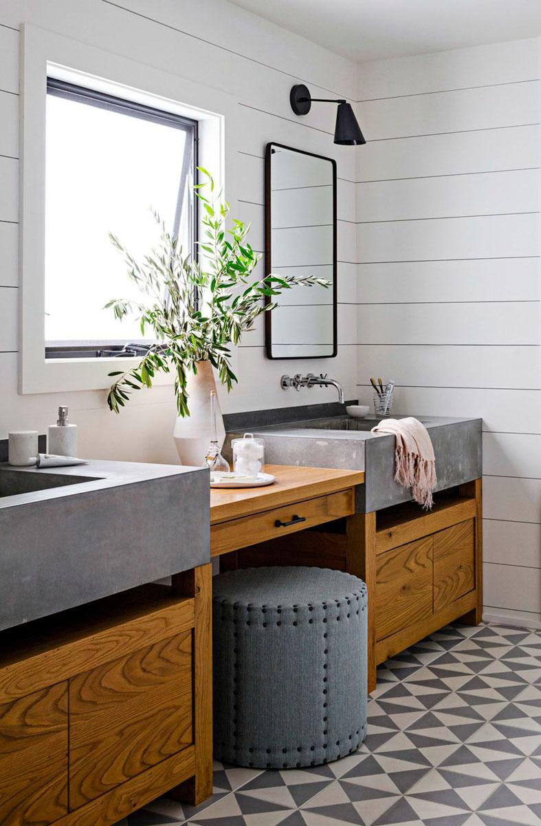 Classic Family Bath | Mueble de Obra con Doble Lavabo | Especial Baños Familiares | Tendencias Reformas 2019 | Drékaro
