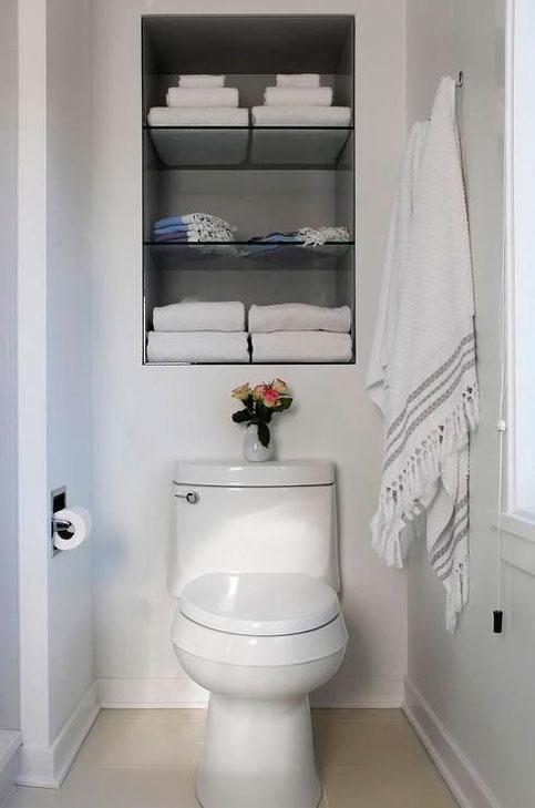 Classic Family Bath | Estanterías de Obra Inodoro a la Vista | Especial Baños Familiares | Tendencias Reformas 2019 | Drékaro