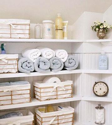 Classic Family Bath | Estanterías a Medida Rincón | Especial Baños Familiares | Tendencias Reformas 2019 | Drékaro