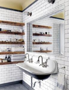 Classic Family Bath | Lavabo y Espejo Tamaño Doble | Especial Baños Familiares | Tendencias Reformas 2019 | Drékaro