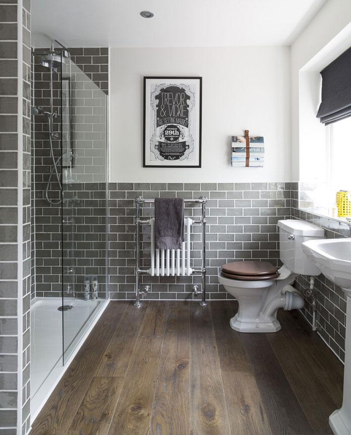 Classic Family Bath | Madera Envejecida | Especial Baños Familiares | Tendencias Reformas 2019 | Drékaro