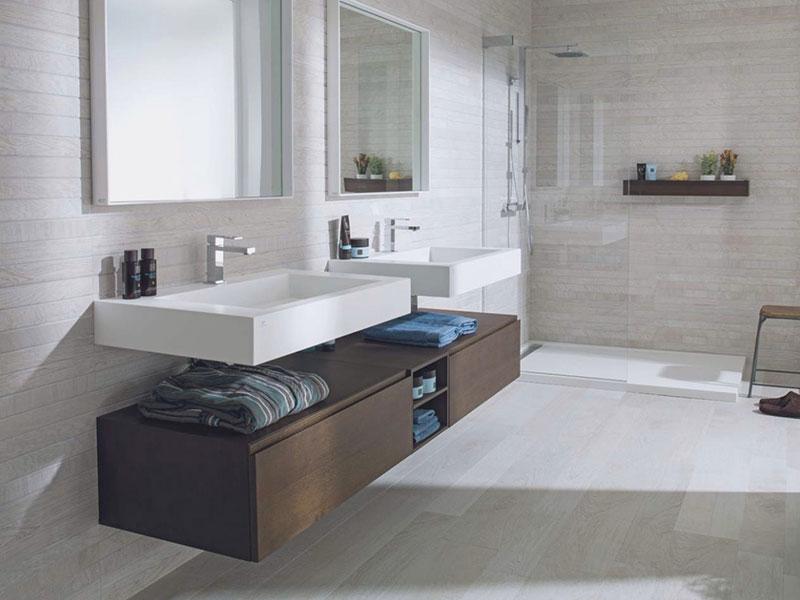 Classic Family Bath | Madera Estilo Nórdico | Especial Baños Familiares | Tendencias Reformas 2019 | Drékaro