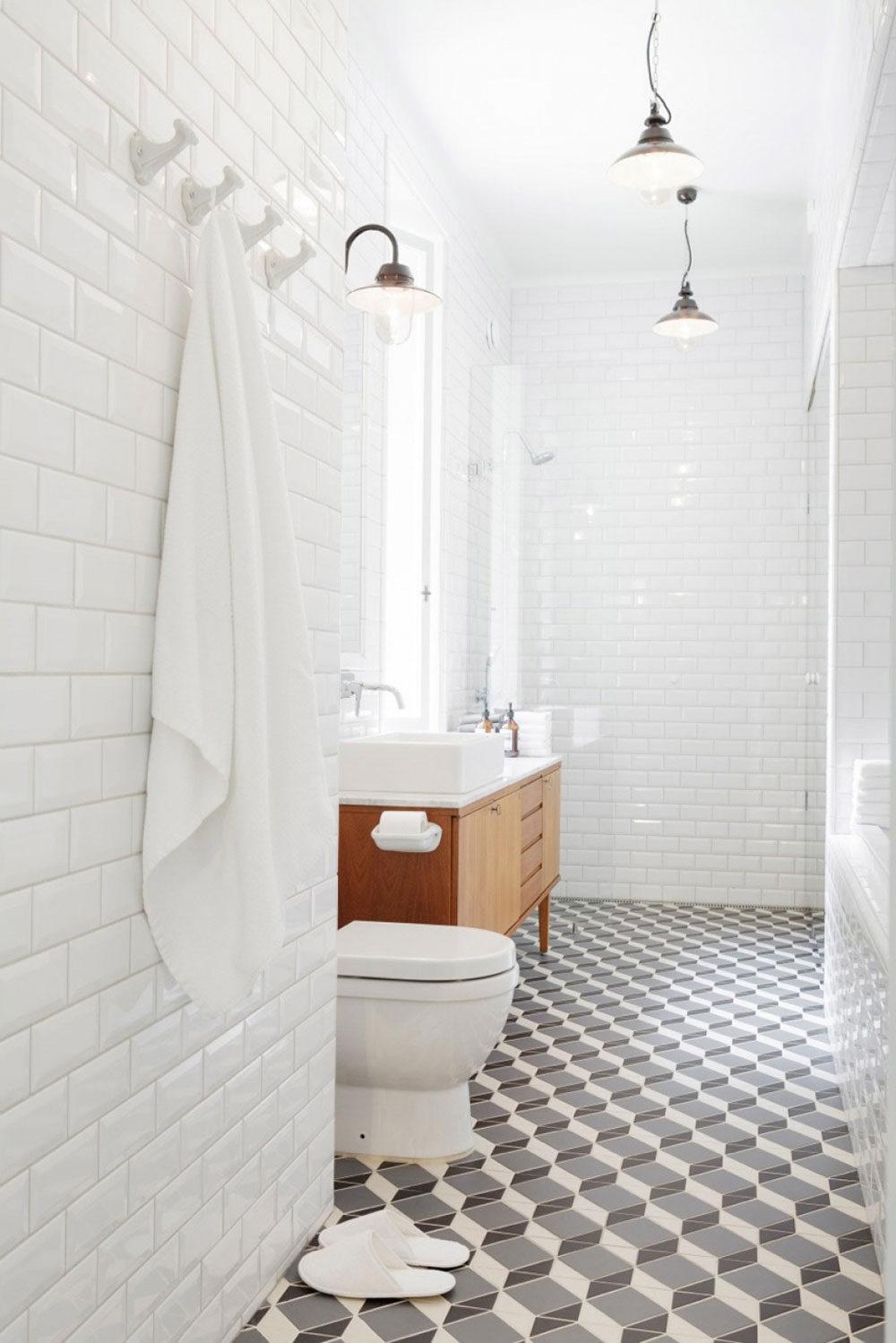 Classic Family Bath | Patrones de Gresite | Especial Baños Familiares | Tendencias Reformas 2019 | Drékaro