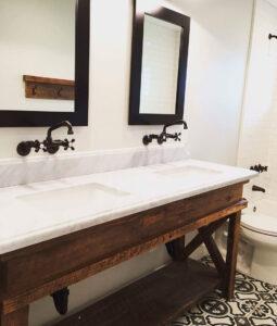 Classic Family Bath   Mueble Clásico con Doble Lavabo   Especial Baños Familiares   Tendencias Reformas 2019   Drékaro