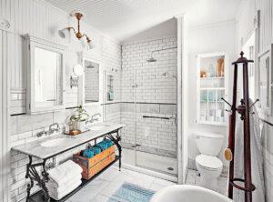 Classic Family Bath | Mueble con Doble Lavabo | Especial Baños Familiares | Tendencias Reformas 2019 | Drékaro