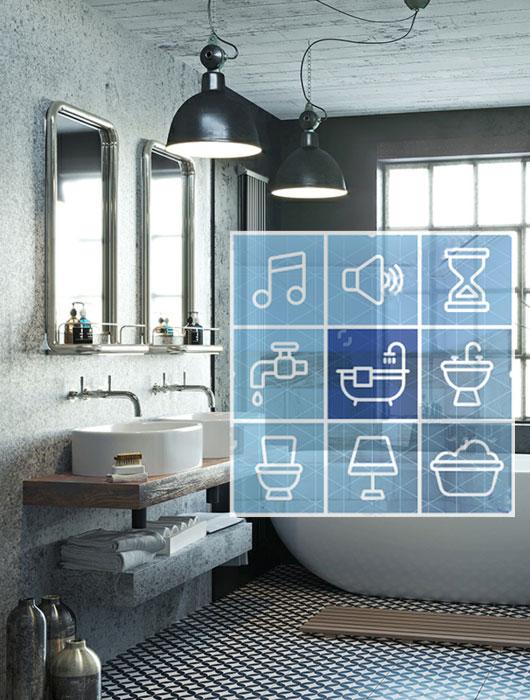 Classic Family Bath | Smart Bathroom Tecnología y Soluciones Domóticas | Especial Baños Familiares | Tendencias Reformas 2019 | Drékaro