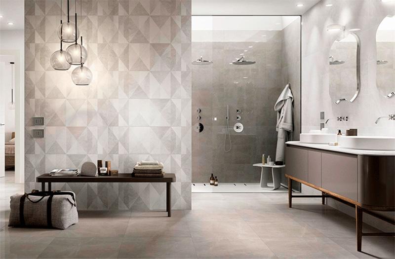 Luxury Spa | Baldosas con Formas Geométricas de Mármol | Especial Baños de Lujo | Tendencias Reformas 2019 | Drékaro