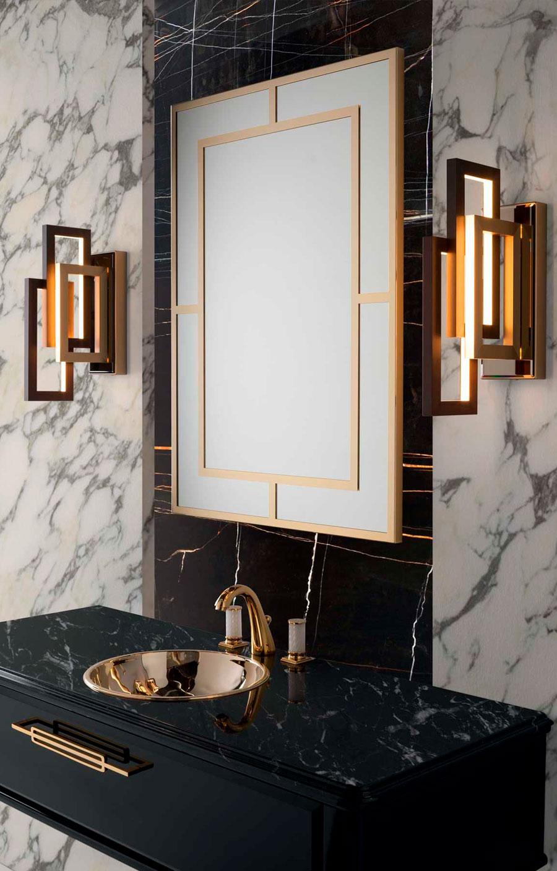 Luxury Spa | Art Decó Dorados | Especial Baños de Lujo | Tendencias Reformas 2019 | Drékaro