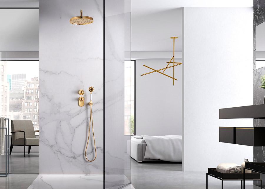 Luxury Spa | Minimal Gold | Especial Baños de Lujo | Tendencias Reformas 2019 | Drékaro