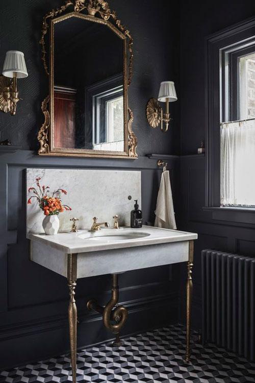 Luxury Spa | Classic Black Gold | Especial Baños de Lujo | Tendencias Reformas 2019 | Drékaro