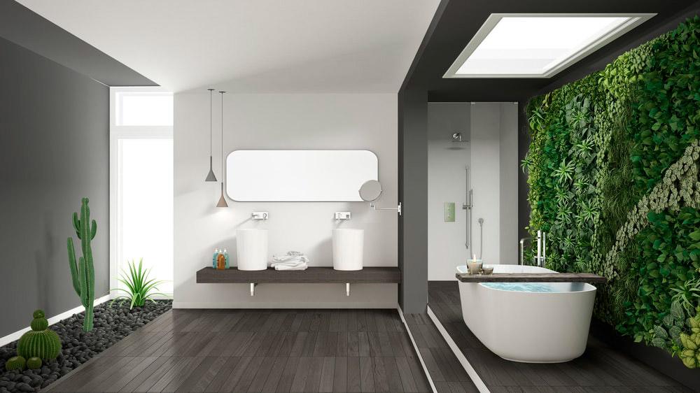 Luxury Spa | Jardín Vertical Artificial | Especial Baños de Lujo | Tendencias Reformas 2019 | Drékaro