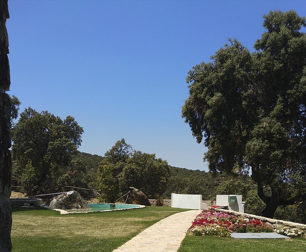 Reforma de Finca Rústica | Refugio en Plena Naturaleza | Proyecto Actuaciones Exteriores | Estanque y Mirador | Drékaro